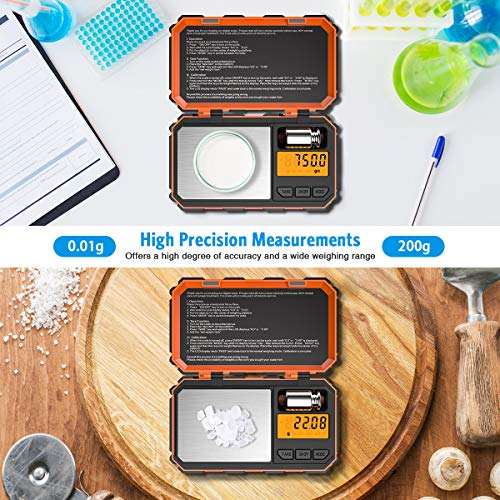 Brifit Digital Mini Scale, 200g /0.03g Pocket Scale