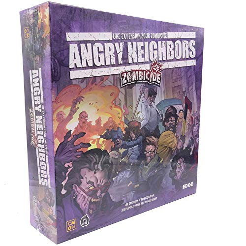 Zombicide Angry Neighbors Asmodee - Juego de Mesa