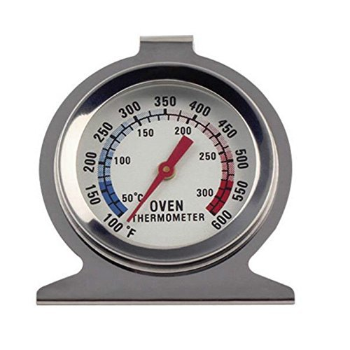 wonderflowers Food Meat Dial Temperature Classic Stand Up Dial Oven Thermometer Gauge Gage