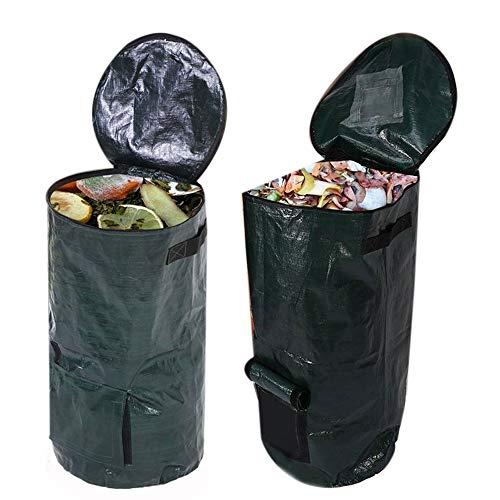 SNOWINSPRING 2 Teiliger Bio Kompost Beutel Obst KüChen Abfall Sammler Lagerung Entsorgung Kompost Maschine Garten MüLl Eimer