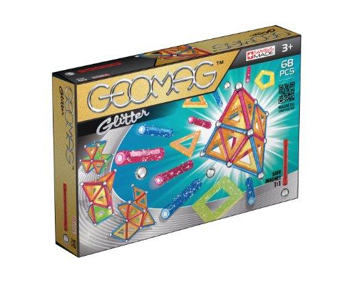 Geomag 533GEO 533-Glitter Panels, teilig, 68 Stück