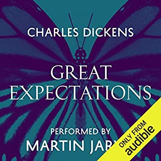 Great Expectations                   By:                                                                                                                                 Charles Dickens                               Narrated by:                                                                                                                                 Martin Jarvis                      Length: 17 hrs and 32 mins     972 ratings     Overall 4.6