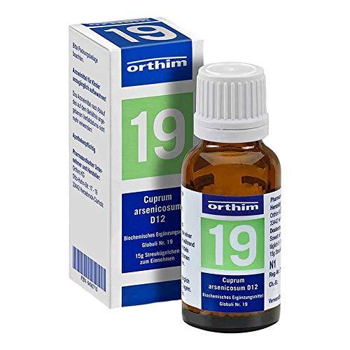 Biochemie Globuli 19 Cuprum Arsenicosum D 12