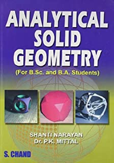 Analytical Solid Geometry by P.K. Mittal (2007-06-01)