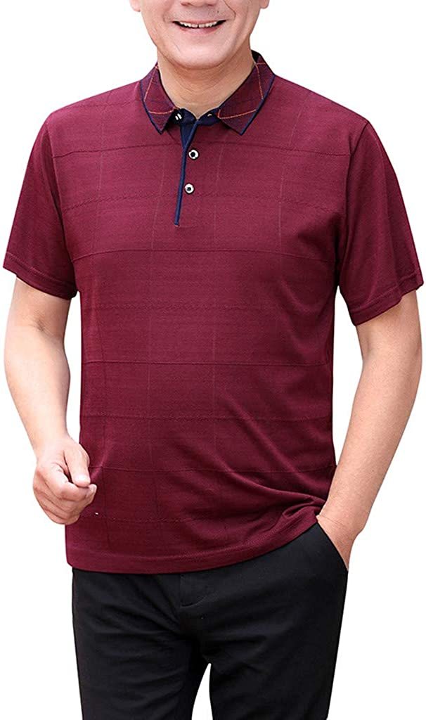 Polo Shirt for San Francisco Mall Men F_Gotal Short Max 51% OFF Men's Fashion Summer T-Shirts