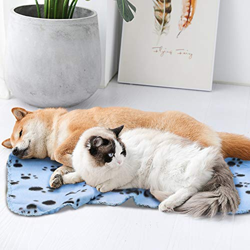 Product Image 6: Comsmart Warm Paw Print Blanket