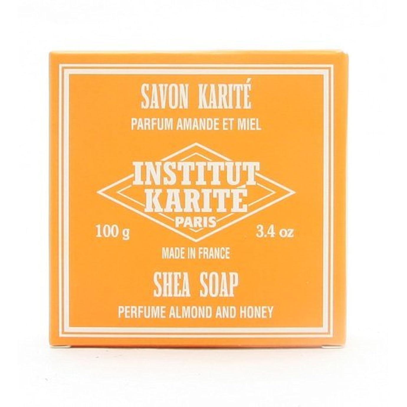 男ベーシックメルボルンINSTITUT KARITE インスティテュート カリテ 25% Extra Gentle Soap ジェントルソープ 100g Almond Honey アーモンドハニー