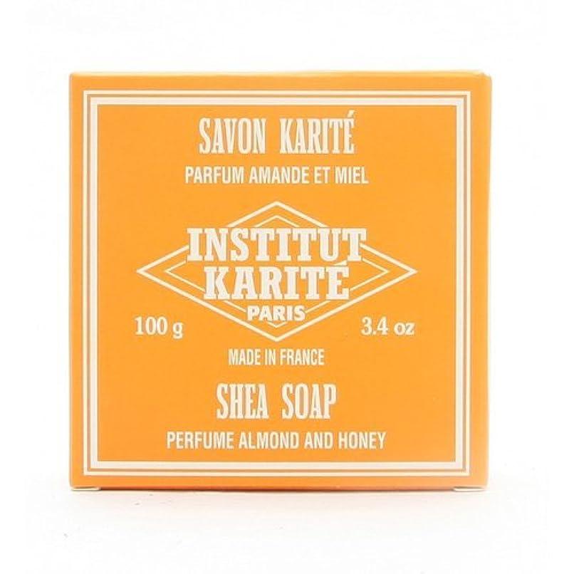 不快な受け皿お願いしますINSTITUT KARITE インスティテュート カリテ 25% Extra Gentle Soap ジェントルソープ 100g Almond Honey アーモンドハニー