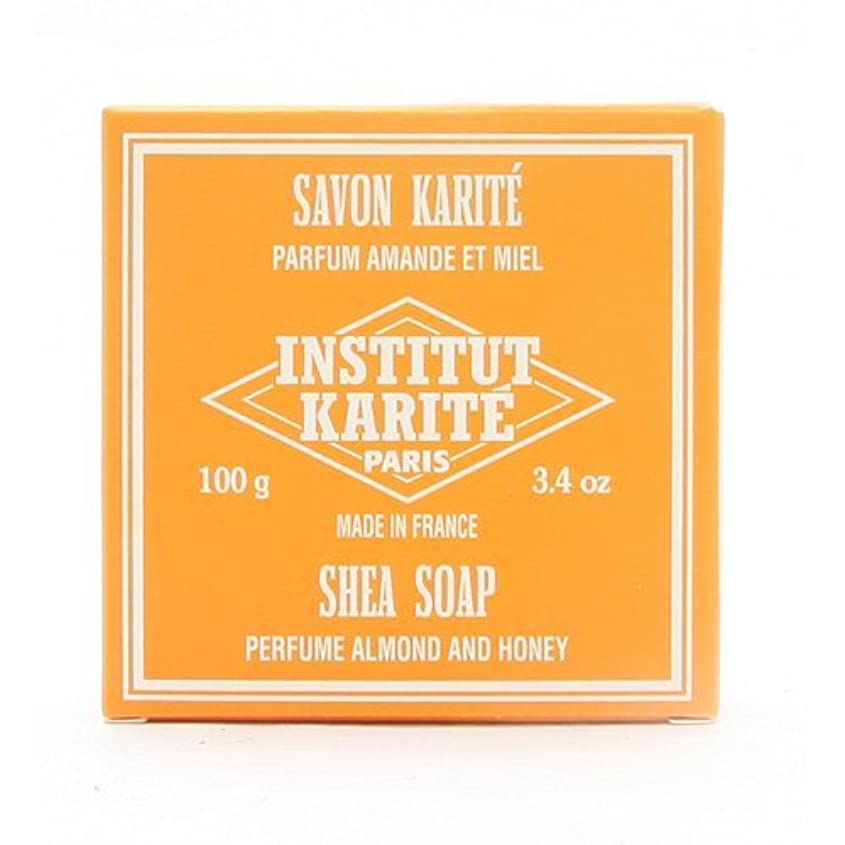 ぬいぐるみシャット節約するINSTITUT KARITE インスティテュート カリテ 25% Extra Gentle Soap ジェントルソープ 100g Almond Honey アーモンドハニー