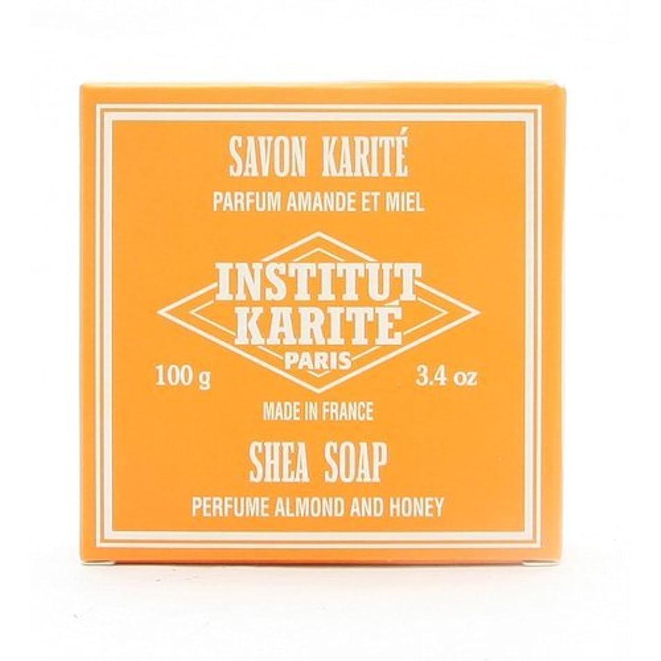 著名な上に築きますゲストINSTITUT KARITE インスティテュート カリテ 25% Extra Gentle Soap ジェントルソープ 100g Almond Honey アーモンドハニー