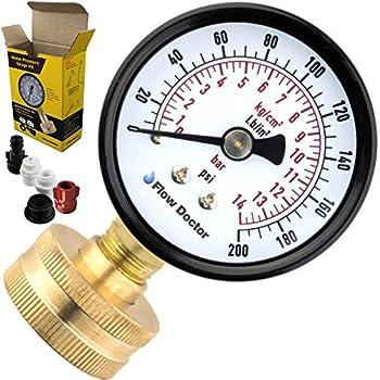 rain bird pressure gauge