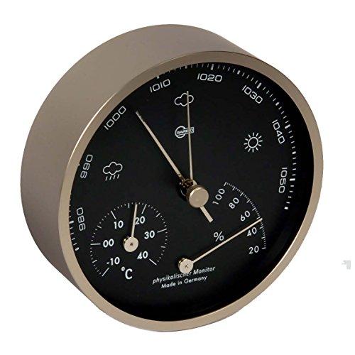 Barigo Pentable Baro/thermo/hygrometer, schwarz