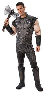 Rubie's Men's Marvel Avengers Infinity War Thor Deluxe Costume, X-Large