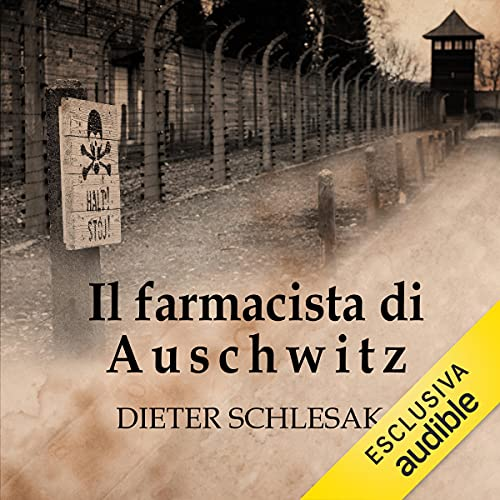 Il farmacista di Auschwitz copertina