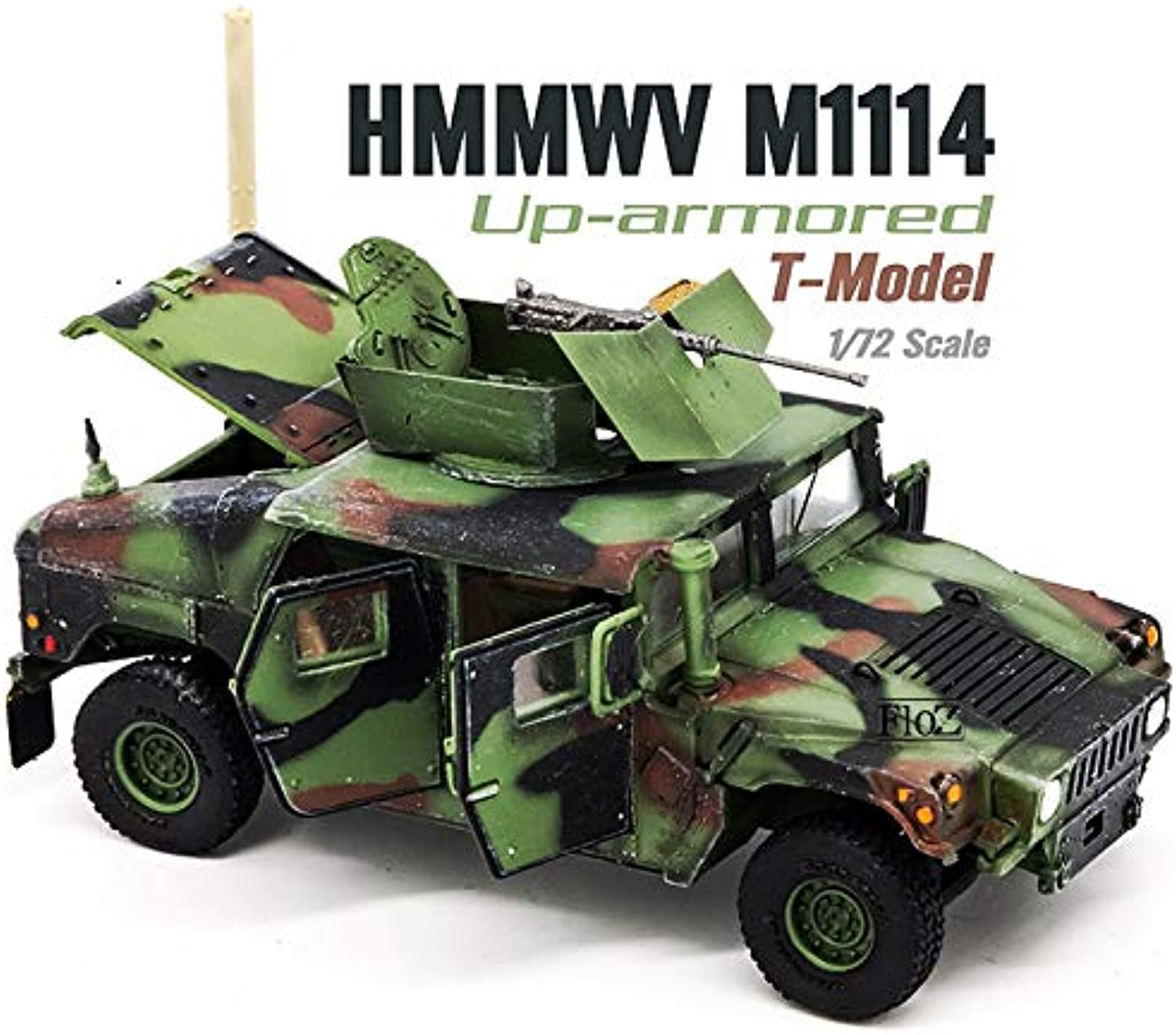 FLOZ USA HMMWV M1114 DOORS CAN BE OPENED SPECIAL VERSION 1 72 FINISHED TANK MODEL