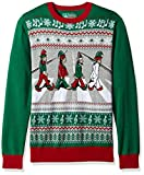 Zebrastreifen Elfen Ugly Christmas Sweater