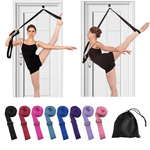 Beser Lee - Banda para la pierna para bailarina de ballet, para mejorar el estiramiento de la pierna y obtener más flexibilidad, correas de equipo de entrenamiento de estiramiento, equipo perfecto para yoga, pilates, gimnasia