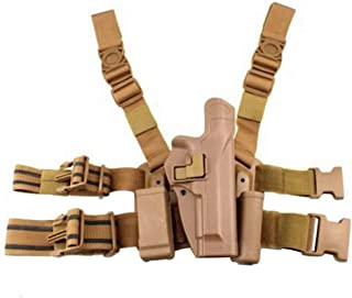 Quick Tactical Right Hand Paddle Belt Leg Thigh Hard Drop Level 2 Holster
