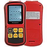 KKmoon GM1312 デジタル温度計 (デュアルチャネル温度計テスター &K / J / T / E / R/ S/ N熱電対& LCDバックライト付き)【並行輸入品】
