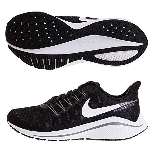 Nike Men's Air Zoom Vomero 14 Running Shoe Wide 4E Black/White/Thunder Grey Size 10 M US
