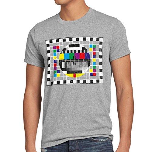 style3 Testbild Herren T-Shirt Sheldon, T-Shirt Hauptfarbe:Grau meldiert;Größe:M
