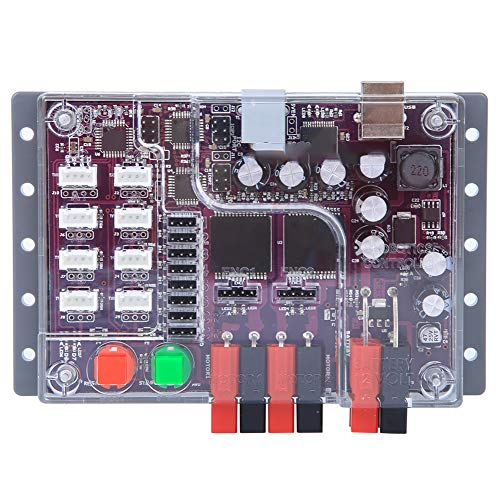 Changor Carte de Commande de Robot Professionnel, kit de Voiture de Robot 40a 1000W en Plastique pour lunité de Traitement ATMEGA328P
