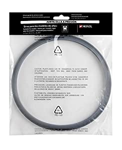 BRA A990932 - Junta-goma silicona para ollas a presión Bra y Monix capacidad 4 , 6 y 7 litros.