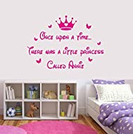 Large Size 60cm x 100cm Made from top quality 5-7 year vinyl which is easily applied and removed once needed. Personalise your little girls room with this beautiful quote. The final finishing touch! If you have any questions, feel free to send us a m...
