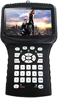N/Z Home Equipment Handheld DVB-S2 Satellite Finder Meter with 4.3 inch LCD support Spectrum Analyzer Camera