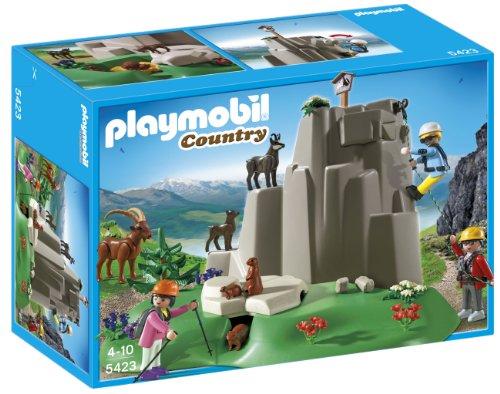 Playmobil Vida en la Montaña - Escaladores con Animales de Montaña, Juguete Educativo, Multicolor, 35 x 12,5 x 25 cm, (5423)