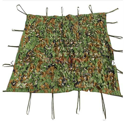 HuaHua Meubeldekzeil, lichtgewicht, duurzaam camouflage Netting Camo Net Militaire Netten zonder Grid voor zonwering Decoratie Jacht Blind Schieten