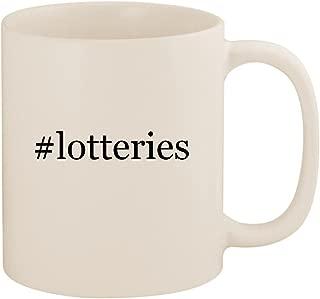 #lotteries - 11oz Ceramic Coffee Mug Cup, White