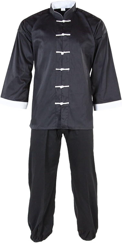 a025db62d 3) - Tiger Claw Kung Fu (Kungfu) Uniform 50 50 Blend Cotton White ...