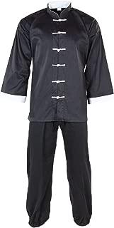 Tiger Claw Kung Fu (Kungfu) Uniform 50/50 Blend Cotton White Cuff Style
