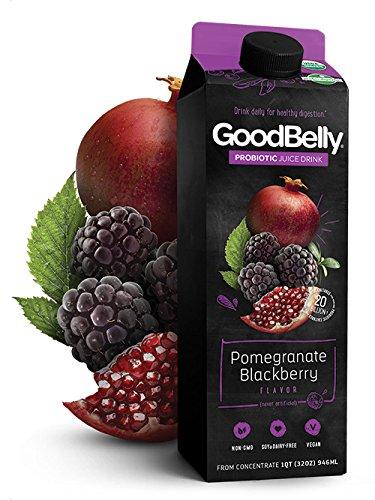 GoodBelly Pomegranate Blackberry Probiotic Juice, 32 oz