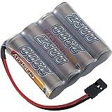 Conrad 206667 parte radiocontrollata - Componenti radiocontrollati (batteria/batteria, ibridi nichel-metallo (NiMH), 2300 mAh, 4,8 V, AA, 152 g)