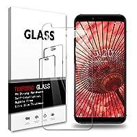 UMIDIGI A3 ガラスフィルム UMIDIGI A3 強化ガラス 全面保護 液晶保護フィルム 日本製素材旭硝子製 最强硬度9H /3D Touch対応/飛散防止/指紋防止/透過率99%/ 気泡ゼロ/貼付け簡単 ガラスフィルム (a3 1p)