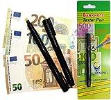 20 Stück Geldscheinprüfer Stifttester O&W Plus Falschgeldtester Banknoten Tester Geldscheinprüfstift