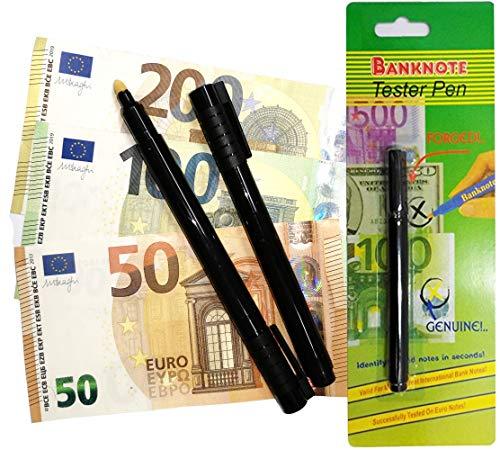 O&W Security 10 Stück Geldscheinprüfer-Stift Stifttester Geldprüfstift Bild