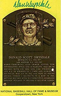 Best don drysdale signature Reviews