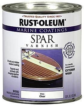 Rust-Oleum 207008 Marine Spar Varnish Quart