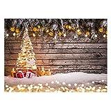 MAJFK Decoración de Navidad Fondo de Tela Fotografía Fondo de Tela de Fondo de Cena de Tela Decoración de Fiesta Familiar, Multicolor