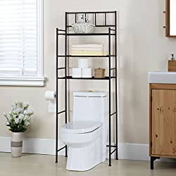 Finnhomy 3 Shelf Bathroom Space Saver Over The Toilet Rack Review