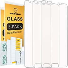 [3-Pack]- Mr.Shield for Samsung Galaxy J3 Luna Pro [Tempered Glass] Screen Protector [Japan Glass with 9H Hardness] with Lifetime Replacement