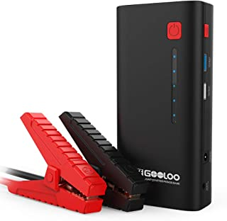 GOOLOO SuperSafe Car Jump Starter - 1200A Peak 18000mAh (Up to 7.0L Gas or 5.5L Diesel Engine) with USB Quick Charge, 12V ...