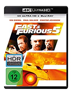 Fast & Furious 5  (4K Ultra HD) (+ Blu-ray 2D)