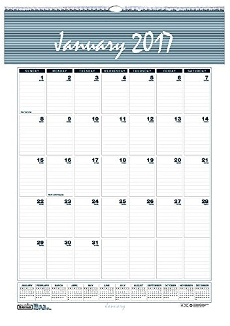 マチュピチュ第九肉屋House of Doolittle 2017 Monthly Wall Calendar Bar Harbor 15.5 x 22 (HOD333-17) [並行輸入品]