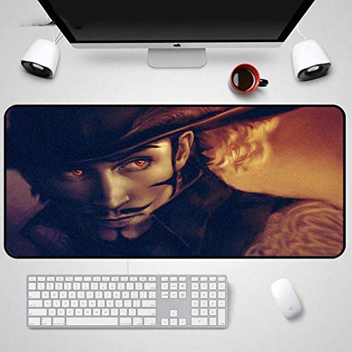 Twhoixi One Piece Mouse Pad Notebook Straw Hoed Piraten Computer PC Laptop Muis Mat Game Tafelmatten, Eén maat, seiu153746 speelgoedfiguur kinderen