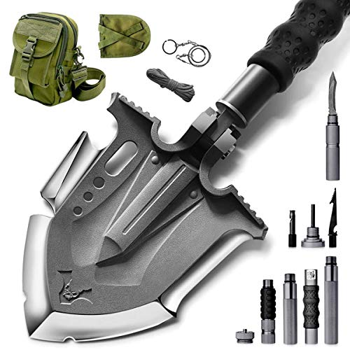 Zune Lotoo Survival Camping Shovel Folding Tactical Gear Military with...