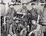 大きな写真「プラトーン」チャーリー・シーン、トム・ベレンジャー、ウィレム・デフォー